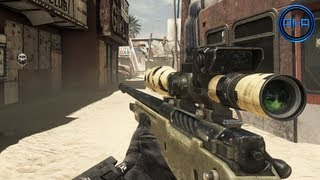 "GHOSTS Multiplayer Gameplay - New ""HONEY BADGER"", Sniping & Dynamic Maps! - (Call of Duty Ghosts)"