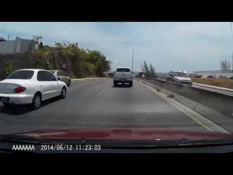 Driving in Barbados - PHD Merge