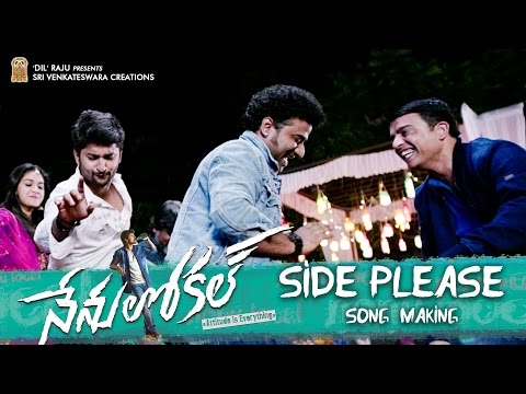 Side-Please-Song-Making-From-Nenu-Local-Movie