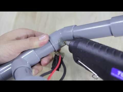 cách làm súng bằng ống nhựa pvc