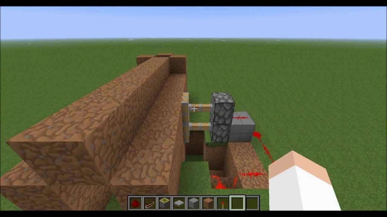 Tuto minecraft porte secrete youtube for Porte and minecraft