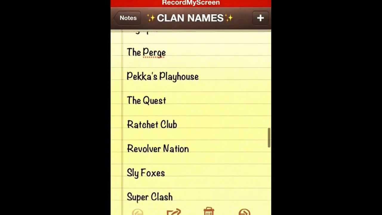 Image cool clan names clash download