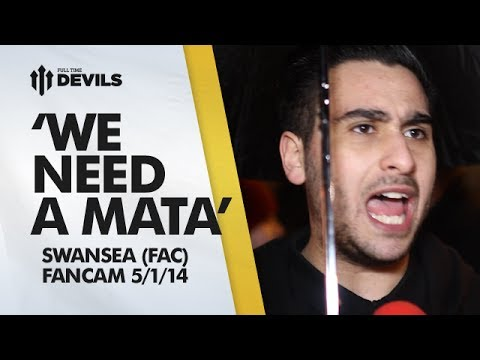 'We Need A Mata' | Manchester United 1-2 Swansea City - FA Cup | FANCAM