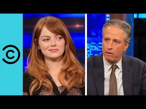 Emma Stone | The Daily Show with Jon Stewart