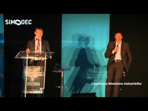 Anticiper Mutations Industrielles à l'Horizon 2020 (Conférence SNDEC / Quadrat) - Simodec 2014