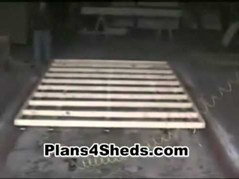 How to Build a 10 X 6 Shed Floor