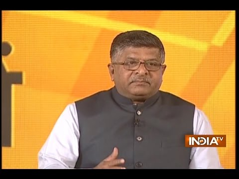 IndiaTV Samvaad: Triple talaq can not be a part of worship says Ravi Shankar Prasad