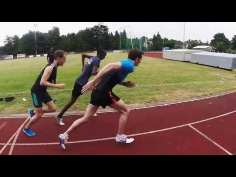 Speed endurance running session
