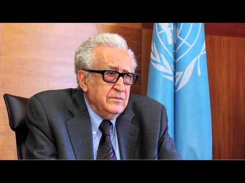Brahimi on Geneva 2 and G20