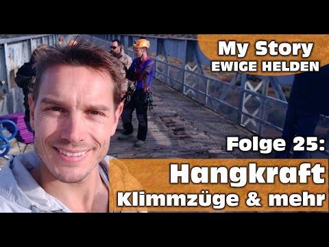 Ewige Helden | Backstage | Folge: 25 Hangkraft Klimmzüge