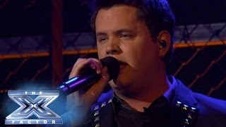 """Tim Olstad Performs """"Against All Odds"""" THE X FACTOR USA 2013"""