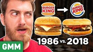 Recreating Discontinued Burger King Menu Items (TASTE TEST)