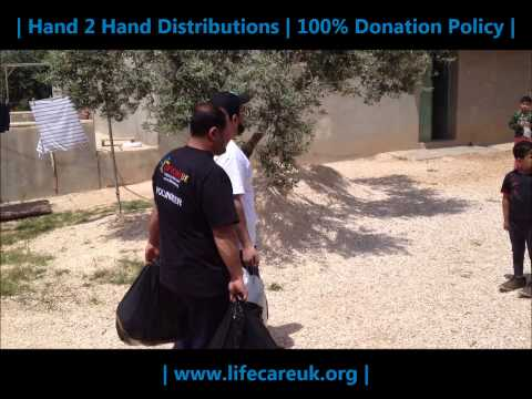 Lifecare UK | AID 2 SYRIA | JORDAN REFUGEE CAMPS | 2013