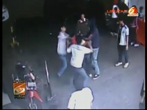 Maling Motor Dihajar Massa Sampai BONYOK!! Terekam Kamera CCTV Mall