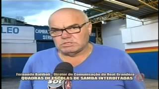 Quadras de escolas de samba interditadas - Alterosa em Alerta 28/01