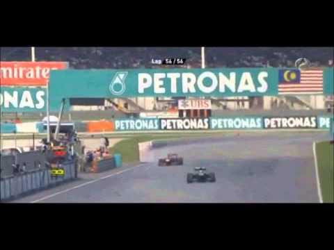 Vettel VS Webber - GP Malasia