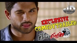 Race Gurram Latest Exclusive Comedy Trailer - Allu Arjun, Shruti Haasan