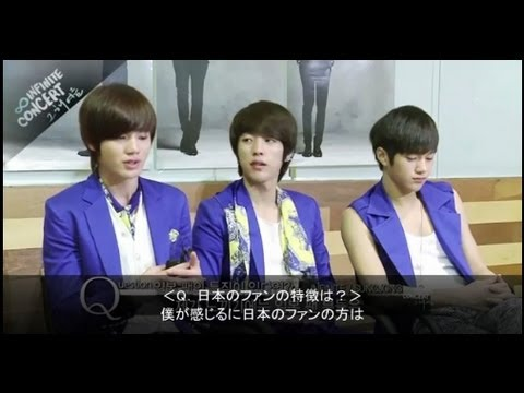INFINITE  DVD JPN