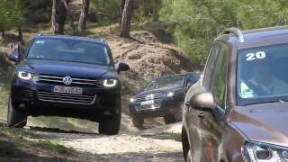 Touareg 2 Wolfsburg, Gel�ndeparcour videos