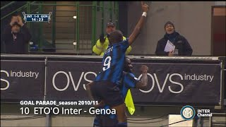 GOAL PARADE STAGIONE 2010-2011
