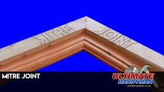 How to make a mitre joint