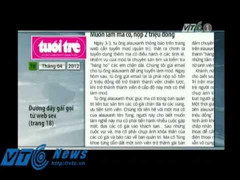 Lật tẩy đường dây gái gọi từ web sex - TruyenHinhTV.com