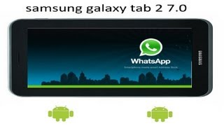 Como Instalar Whatsapp En Tablet Android (NO TELEFONO