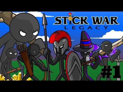 Stick War Legacy #1:Đánh nhau đến khi mặt trời lặn ;)
