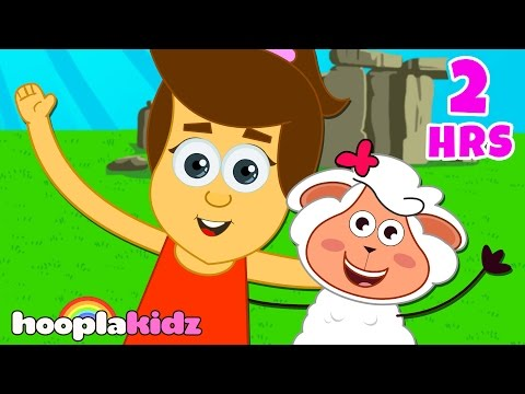 Mary Had A Little Lamb   Baby Songs Compilation   Part 3    Songs for Babies by HooplaKidz  2 Hrs+