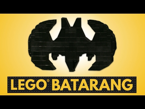 Fight Crime with the LEGO BATARANG! | BRICK X BRICK