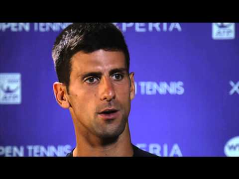 Miami 2014 Tuesday Interview Djokovic