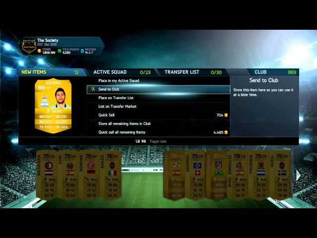 SPECIAL PACKS - 25,000 COIN ALL PLAY PACKS! FIFA 14 ULTIMATE TEAM