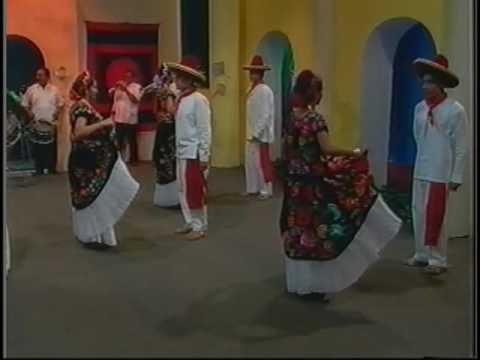 Union Hidalgo, Oaxaca. México Video 11 - Baile regional ZANDUNGA -
