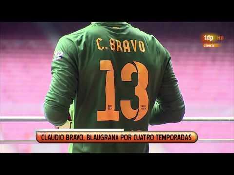 CLAUDIO BRAVO - Presentación en el FC BARCELONA