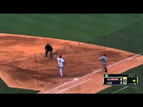 05/22/2013 Alabama vs LSU Baseball Highlights