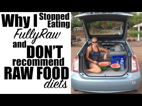 Why I Gave Up FullyRaw and DON'T Recommend Raw Food Diets