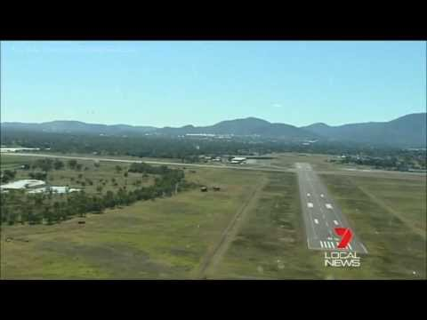 Seven Local News Rockhampton: Parking Fees For Planes (2013)