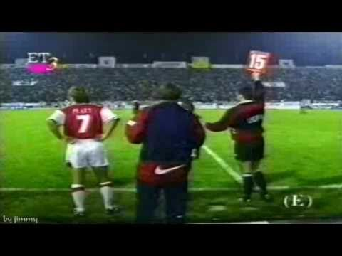 PAOK ARSENAL 1-0 UEFA cup 1st Round 1st Leg