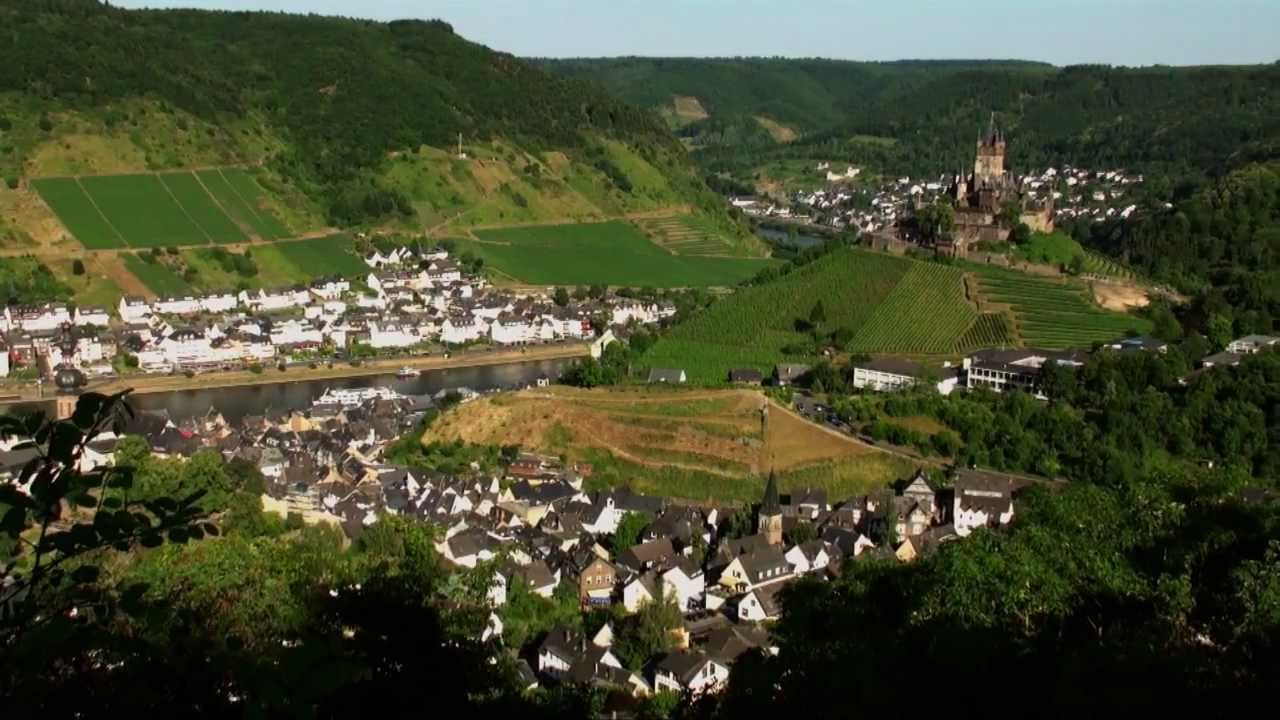 Alemania turismo castillo de cochem en el valle del - Cochem alemania ...