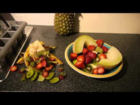 Healthy Fruit Breakfast  6 Different fruits  12.5.2014