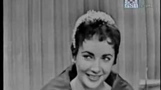 Elizabeth Taylor on What's My Line? 1954