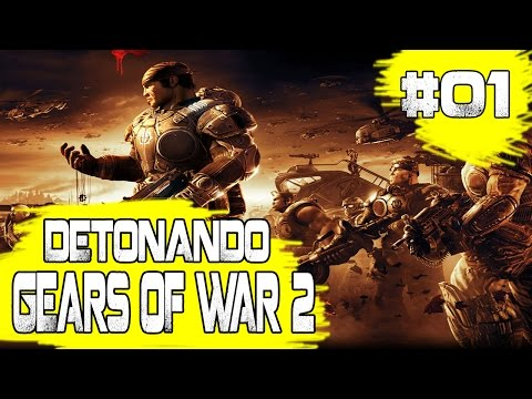 Detonando Gears Of Waf 2 - #01: Tip Of The Spear - Welcome To Delta