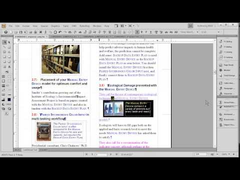 CreativeCloud FrameMaker and Word: single-source & multi-channel publishing link in description