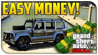 "GTA 5 Online EASY MONEY! How To Find & Sell ""Rare Dubsta"