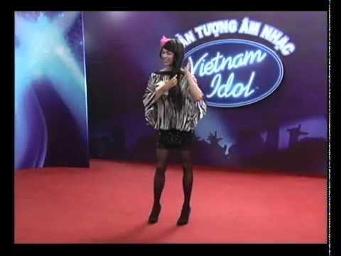Thí sinh pede thi Vietnam Idol 2010