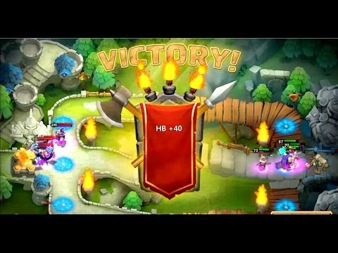 Let's Play Castle Clash - HBM D, E, Raids and Arena