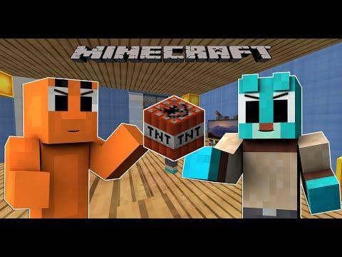 KẺ KHỜ VÀ TỔNG THỐNG !!   Minecraft thế giới kì diệu của Gumball #1