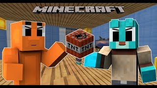 KẺ KHỜ VÀ TỔNG THỐNG !! | Minecraft thế giới kì diệu của Gumball #1