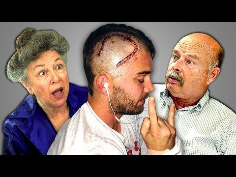 Elders React to Man Films Own Brain Surgery (CTFxC)