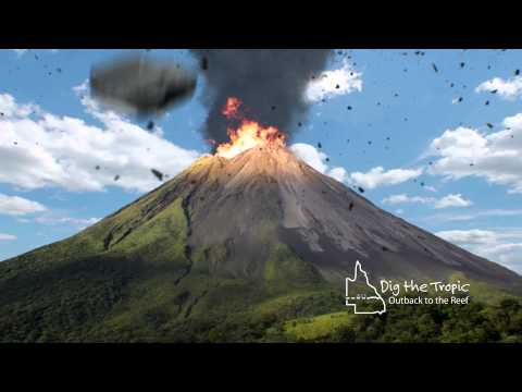 Dig The Tropic - Volcano